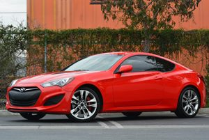 2013 Hyundai Genesis Coupe 20T Carfax 1-Owner  Tsukuba Red 26791 Per Month -ON APPROVED CRE