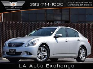 2012 Infiniti G37 Sedan Journey Carfax 1-Owner - No Accidents  Damage Reported to CARFAX  Silv