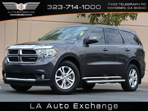 2013 Dodge Durango SXT Carfax 1-Owner  Mineral Gray Metallic  All advertised prices exclude go