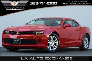 2014 Chevrolet Camaro LS Carfax 1-Owner Air Conditioning  AC Audio  Auxiliary Audio Input Au