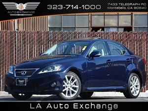 2011 Lexus IS 250  Carfax 1-Owner - No Accidents  Damage Reported to CARFAX  Cerulean Blue Met
