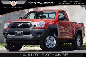 2014 Toyota Tacoma  Carfax 1-Owner - No Accidents  Damage Reported to CARFAX 3 Person Seating Ca