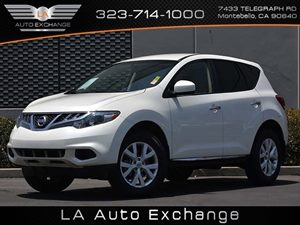 2014 Nissan Murano S Carfax 1-Owner Air Conditioning  AC Audio  Auxiliary Audio Input Audio