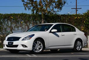 2012 Infiniti G37 Sedan Journey Carfax 1-Owner Air Conditioning  Climate Control Convenience