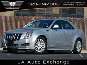 2012 Cadillac CTS Sedan  Carfax 1-Owner - No Accidents  Damage Reported to CARFAX Air Conditioni