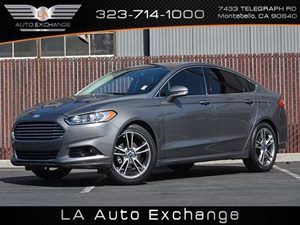 2013 Ford Fusion Titanium Carfax 1-Owner  Sterling Gray  All advertised prices exclude governm
