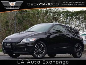 2014 Honda CR-Z EX Carfax 1-Owner  Crystal Black Pearl 22114 Per Month -ON APPROVED CREDIT
