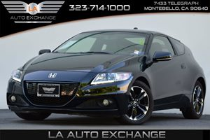 2014 Honda CR-Z Hybrid Carfax 1-Owner Convenience  Adjustable Steering Wheel Convenience  Auto