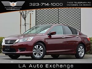 2014 Honda Accord Sedan LX Carfax 1-Owner Air Conditioning  AC Audio  Auxiliary Audio Input