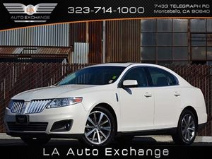 2009 Lincoln MKS  Carfax Report - No Accidents  Damage Reported to CARFAX  White Chocolate Tri