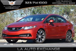 2013 Honda Civic Sdn Si Carfax 1-Owner 3-Point Seat Belts In All Seating Positions -Inc Front Au