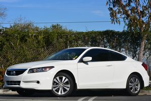 2012 Honda Accord Cpe EX-L Carfax 1-Owner Air Conditioning  Climate Control Audio  Auxiliary A
