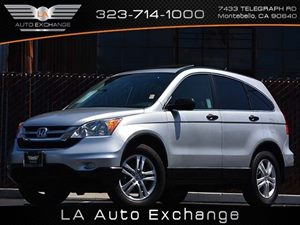 2011 Honda CR-V EX Carfax 1-Owner  Alabaster Silver Metallic  All advertised prices exclude go