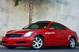 2006 Infiniti G35 Coupe  Carfax Report - No Accidents  Damage Reported to CARFAX Air Conditionin