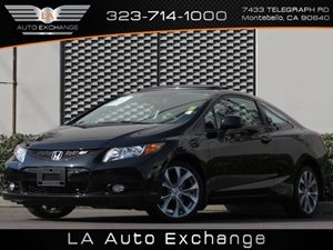 2012 Honda Civic Cpe Si Carfax 1-Owner Audio  AmFm Stereo Audio  Auxiliary Audio Input Audio