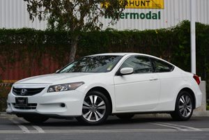 2012 Honda Accord Cpe EX-L Carfax 1-Owner Air Conditioning  Climate Control Convenience  Cruis