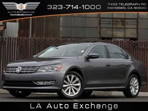 2012 Volkswagen Passat SEL Premium PZEV Carfax 1-Owner Air Conditioning  AC Audio  AmFm Ster