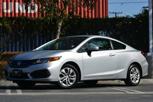 2015 Honda Civic Coupe LX Carfax 1-Owner - No Accidents  Damage Reported to CARFAX Air Condition