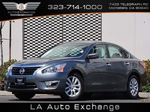 2014 Nissan Altima 25 S Carfax 1-Owner Air Conditioning  AC Audio  Auxiliary Audio Input Au
