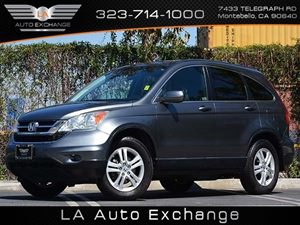 2010 Honda CR-V EX-L Carfax Report  Gray  All advertised prices exclude government fees and ta