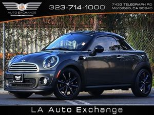 2012 MINI Cooper Coupe  Carfax 1-Owner - No Accidents  Damage Reported to CARFAX Air Conditionin
