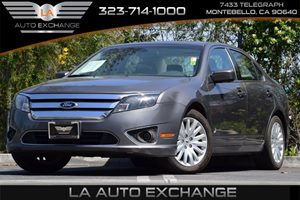 2012 Ford Fusion Hybrid Carfax 1-Owner  Sterling Gray Metallic 18087 Per Month -ON APPROVED