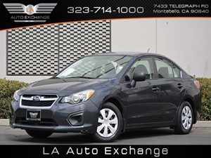 2012 Subaru Impreza Sedan 20i Carfax 1-Owner - No Accidents  Damage Reported to CARFAX  Dark