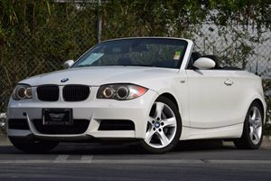2008 BMW 1 Series 135i Carfax Report - No Accidents  Damage Reported to CARFAX 3-Spoke Leather-W