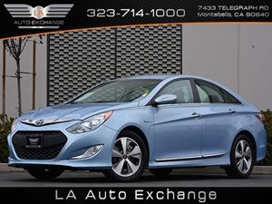 2012 Hyundai Sonata Hybrid Carfax 1-Owner - No Accidents  Damage Reported to CARFAX  Blue Sky