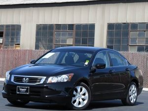 2010 Honda Accord Sdn EX Carfax 1-Owner  Crystal Black Pearl  All advertised prices exclude go