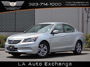 2012 Honda Accord Sdn SE Carfax 1-Owner  Alabaster Silver Metallic  All advertised prices excl