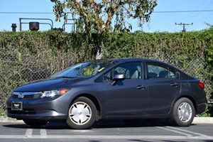 2012 Honda Civic Sdn HF Carfax 1-Owner Air Conditioning  AC Audio  AmFm Stereo Audio  Auxi