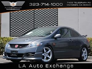 2010 Honda Civic Cpe Si Carfax 1-Owner - No Accidents  Damage Reported to CARFAX Convenience  A