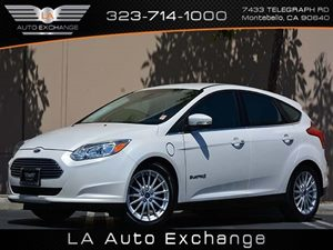 2012 Ford Focus Electric  Carfax 1-Owner - No Accidents  Damage Reported to CARFAX  Oxford Whi