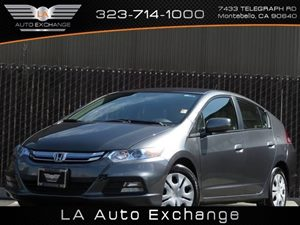2013 Honda Insight  Carfax Report - No Accidents  Damage Reported to CARFAX  Gray  All advert