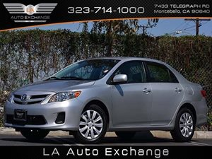 2012 Toyota Corolla L Carfax 1-Owner  Classic Silver Metallic  All advertised prices exclude g