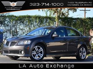 2008 Pontiac G8  Carfax Report  Magnetic Gray Metallic Keyless Entry Power Driver Seat Power