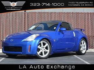 2004 Nissan 350Z Enthusiast Carfax Report  Daytona Blue Metallic  All advertised prices exclud