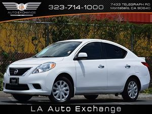 2014 Nissan Versa SV Carfax 1-Owner Air Conditioning  AC Audio  Auxiliary Audio Input Audio