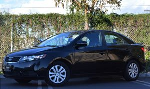 2013 Kia Forte EX Carfax 1-Owner - No Accidents  Damage Reported to CARFAX  Aurora Black Pearl