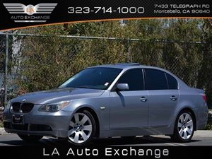 2007 BMW 5 Series 530i Carfax Report Air Conditioning  Climate Control Audio  Premium Sound Sy