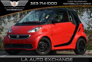 2013 Smart fortwo Passion Carfax 1-Owner 12V Pwr Outlet WCover Air Conditioning  Climate Contr