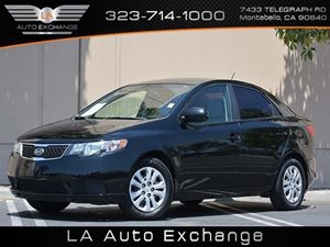 2013 Kia Forte LX Carfax 1-Owner - No Accidents  Damage Reported to CARFAX  Aurora Black Pearl