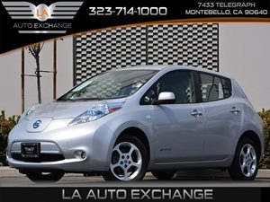 2011 Nissan LEAF SL-e Carfax Report - No Accidents  Damage Reported to CARFAX  Brilliant Silve