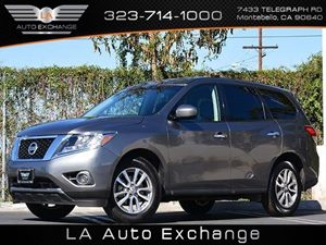 2015 Nissan Pathfinder S Carfax 1-Owner - No Accidents  Damage Reported to CARFAX 6 Cylinders A