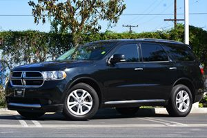 2013 Dodge Durango Crew Carfax 1-Owner Air Conditioning  Climate Control Audio  Auxiliary Audi