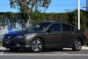 2013 Honda Accord Sdn LX Carfax 1-Owner - No Accidents  Damage Reported to CARFAX Air Conditioni