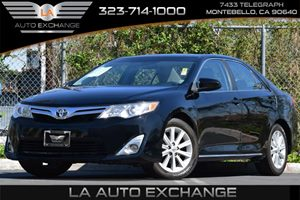 2012 Toyota Camry XLE Carfax 1-Owner - No Accidents  Damage Reported to CARFAX 4-Wheel Anti-Lock