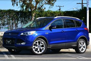 2013 Ford Escape Titanium Carfax 1-Owner - No Accidents  Damage Reported to CARFAX Air Condition