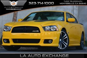 2012 Dodge Charger SRT8 Super Bee Carfax Report Air Conditioning  AC Audio  AmFm Stereo Aud